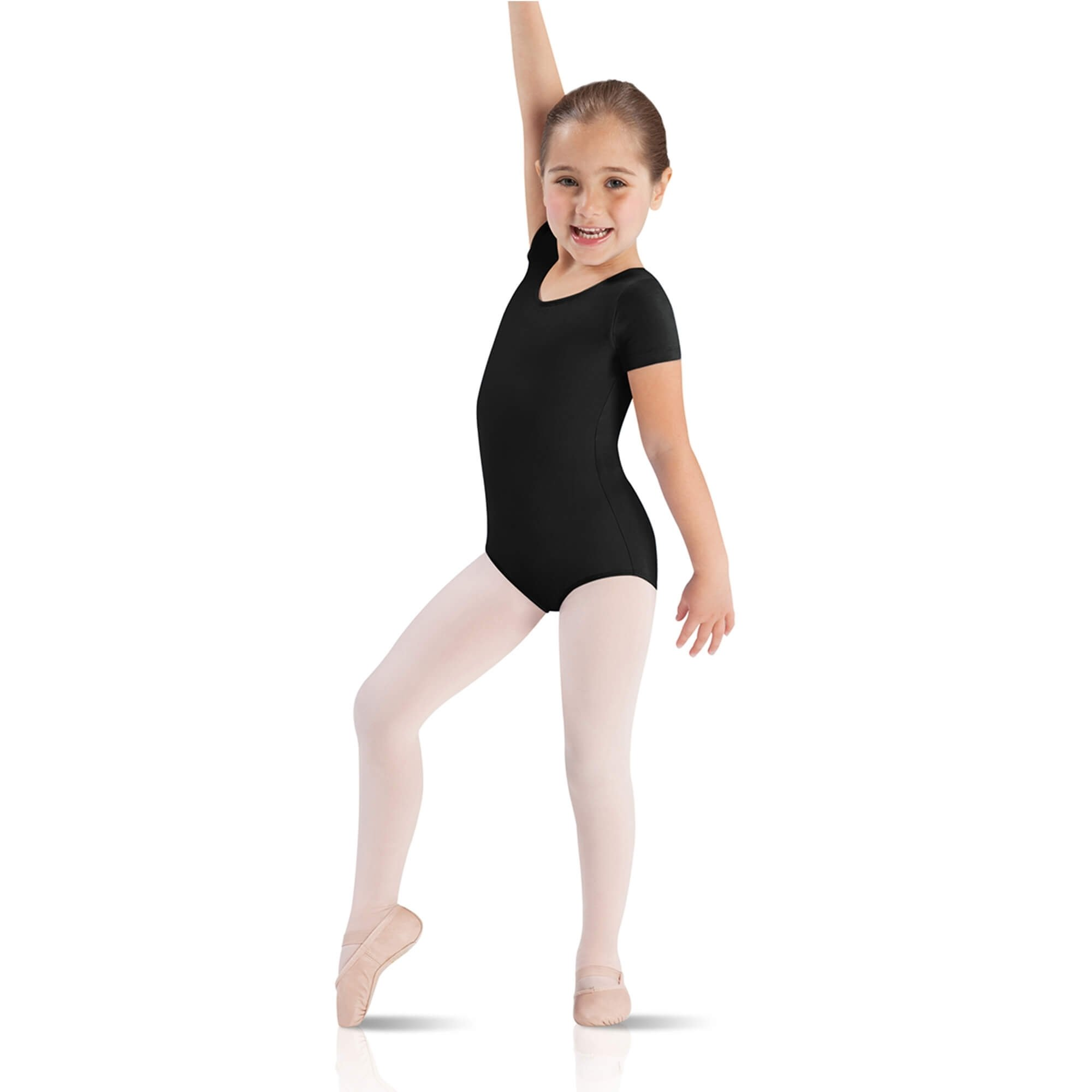 Leo's Children's Short Sleeve Leotard