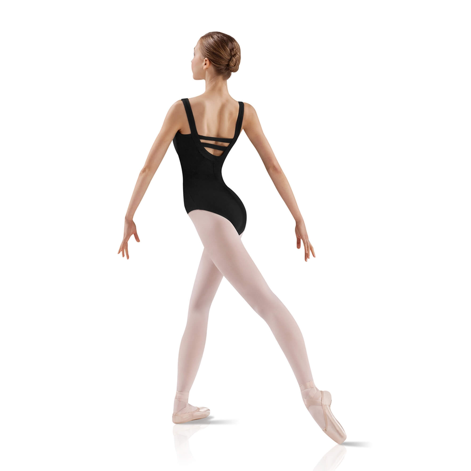 Leo's Ladies Double Back Strap Leotard