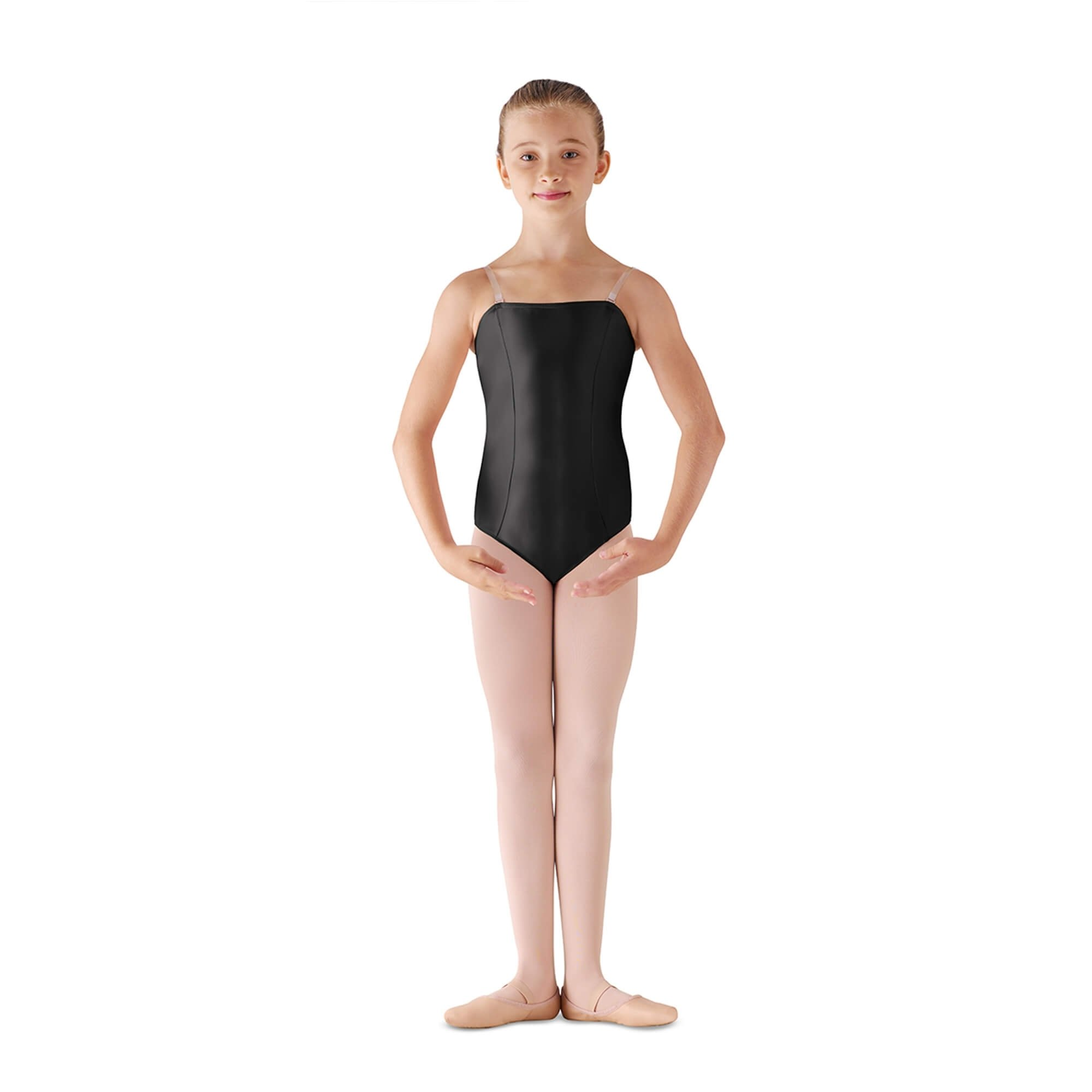 Leo's Children's Satin Basic Leotard
