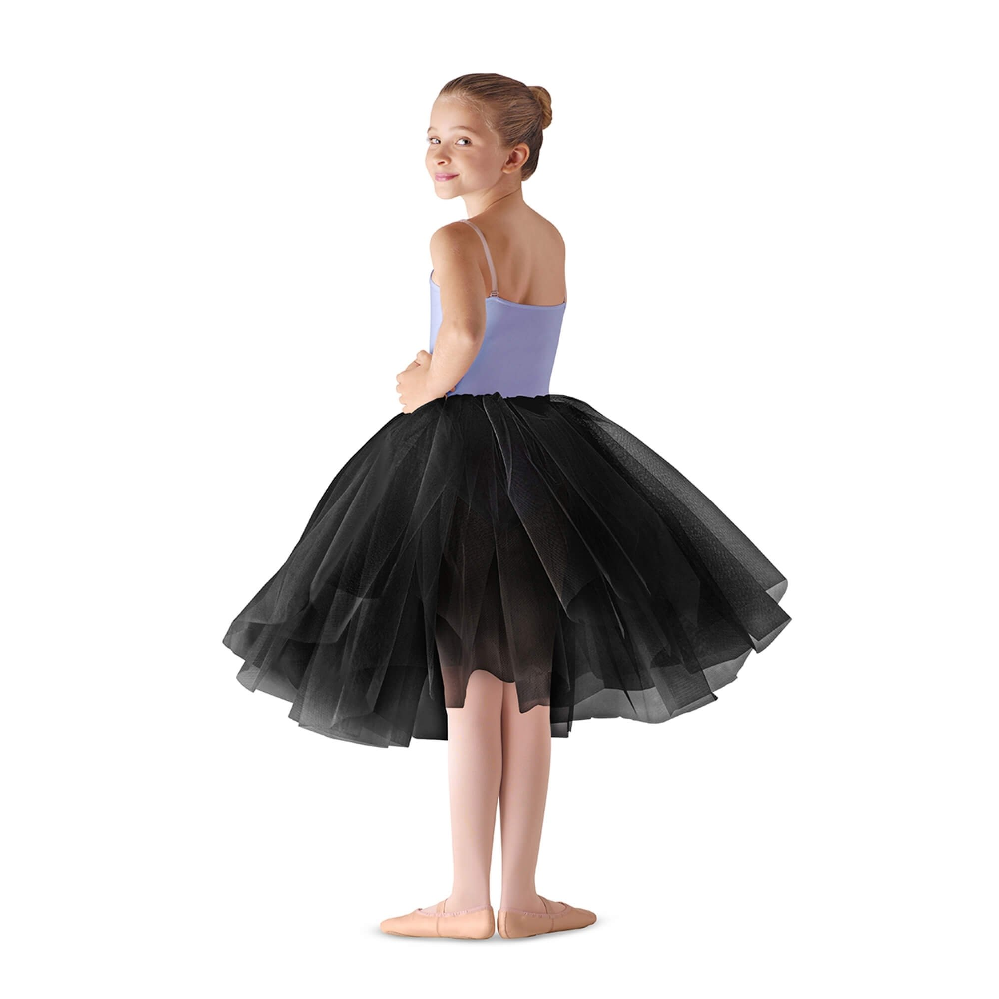 Leo's Children's Firm Tulle Juliet Skirt