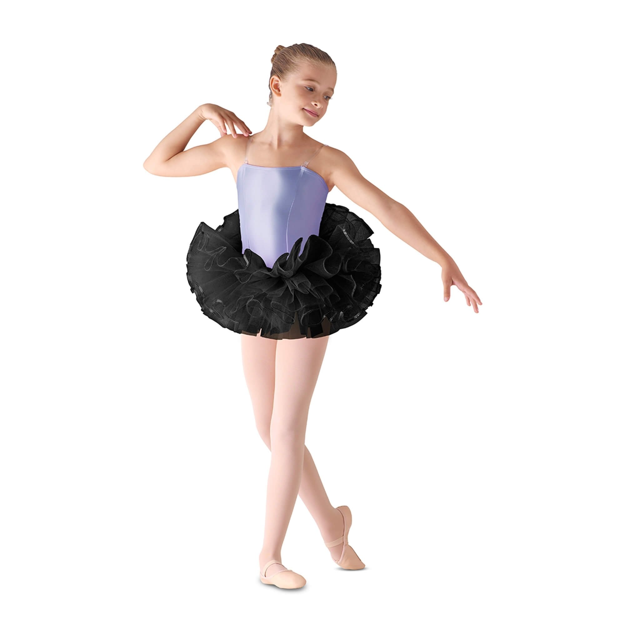 Leo's Children's Sequin Trim Bando Tutu Skirt