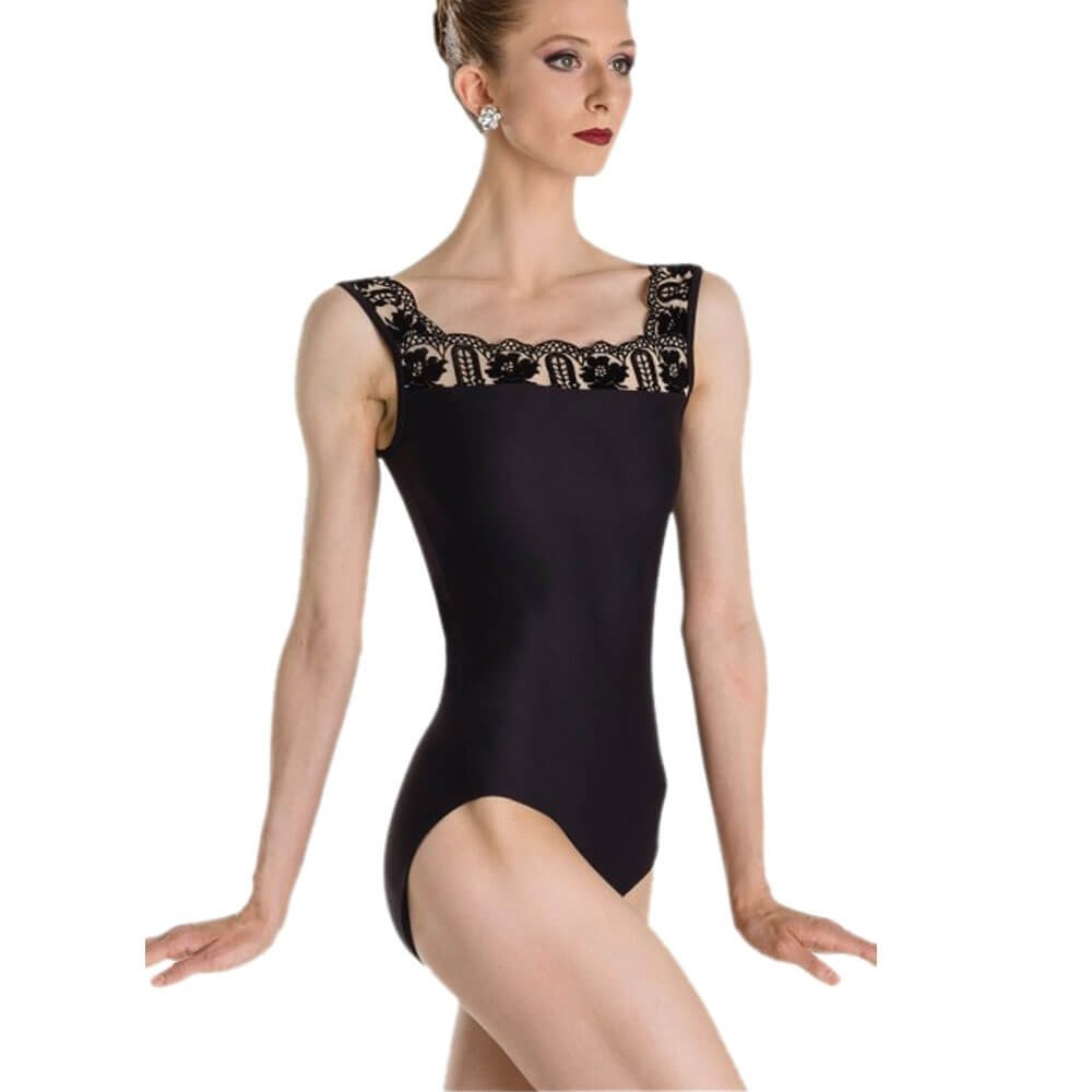 Wearmoi ARLETTY Tank Style Fashion Leotard