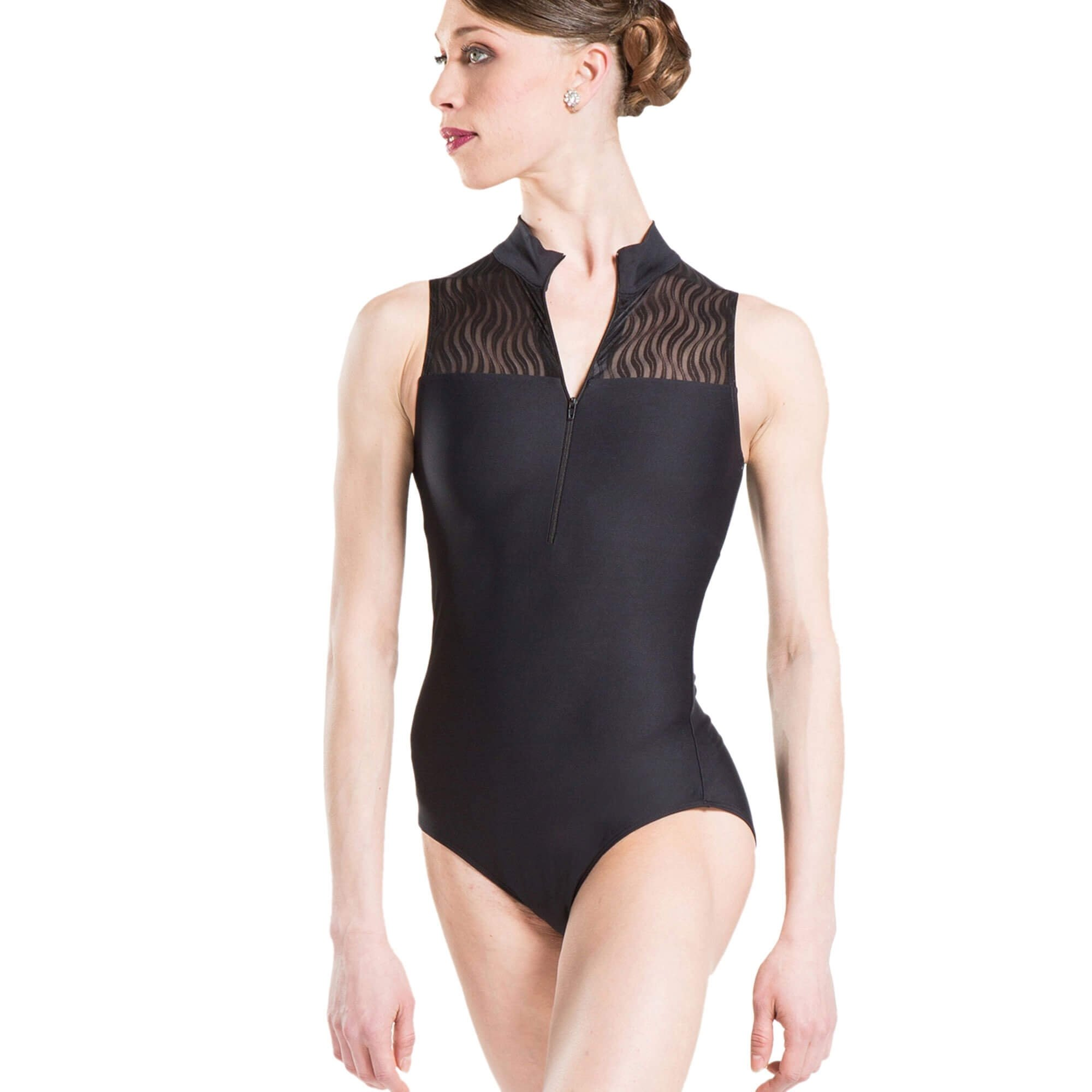Wearmoi FOLIE Mock Neck Leotard
