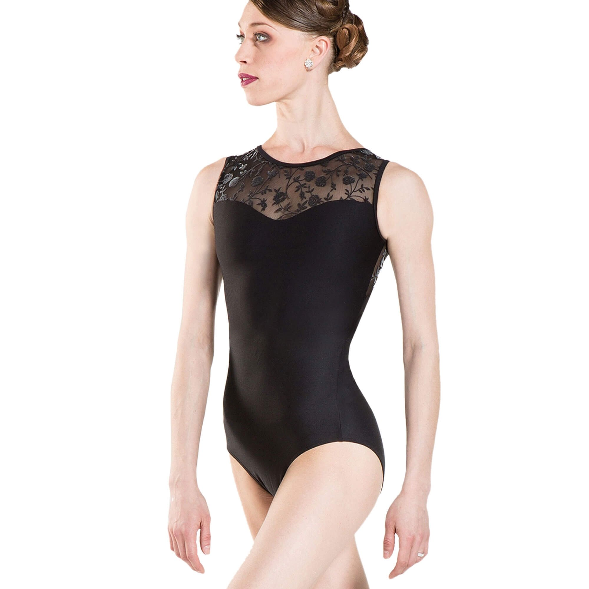 Wearmoi MAJESTE Faux Sweetheart Line Leotard
