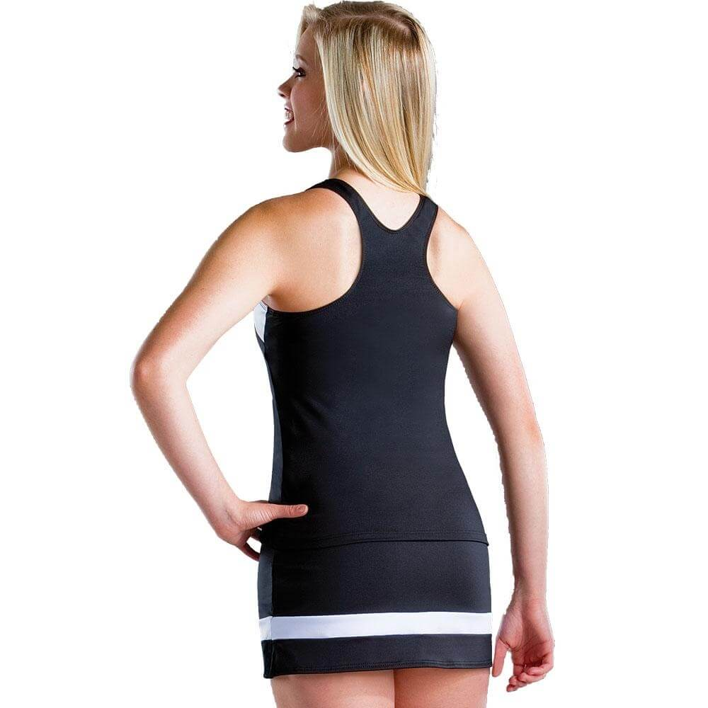 Motionwear Cheer Stretch Racerback Top