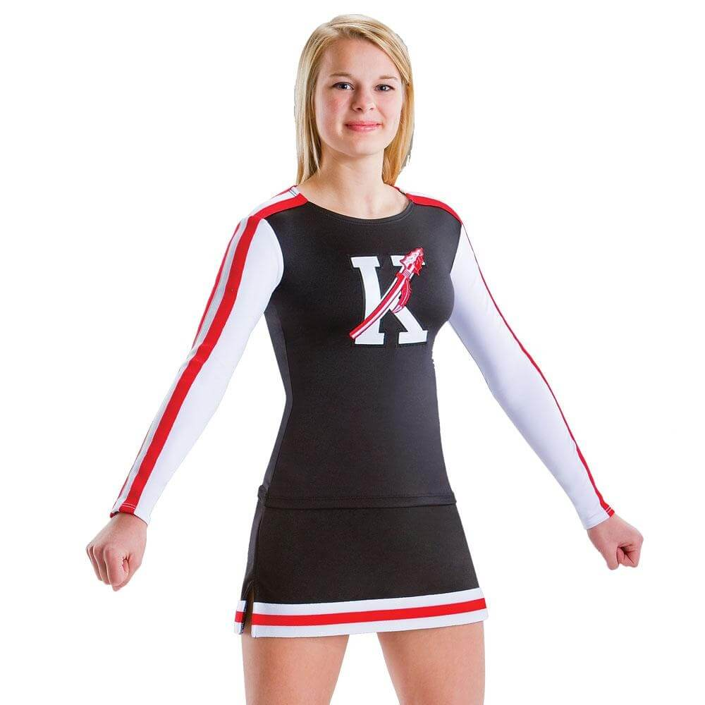 Motionwear Cheer Stretch Top