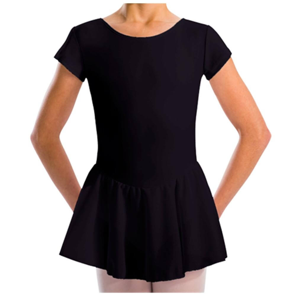 Motionwear Cap Sleeve Skirted Leotard - Click Image to Close
