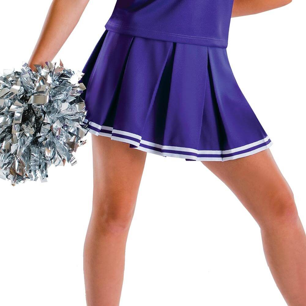 Motionwear Child Knife Pleated Cheer Skirt