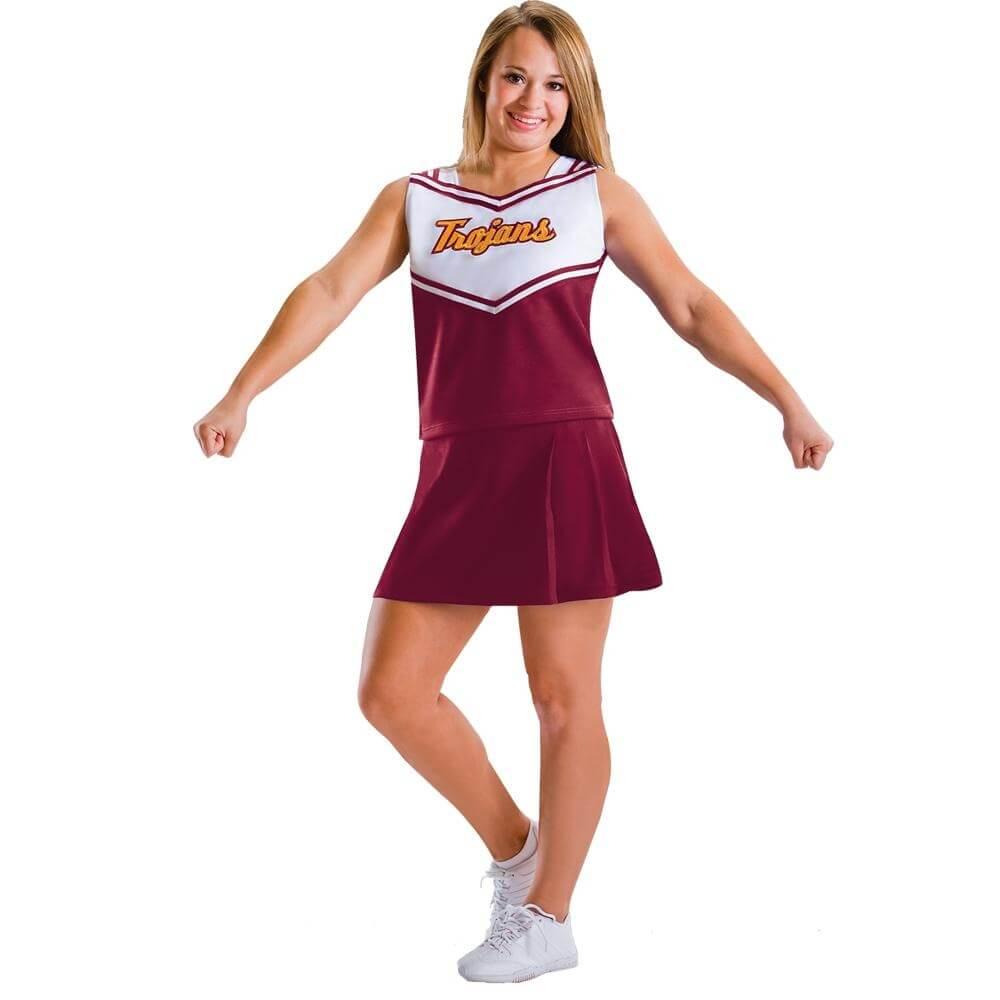 "Motionwear Child ""Trojans"" Cheer Uniform Set"