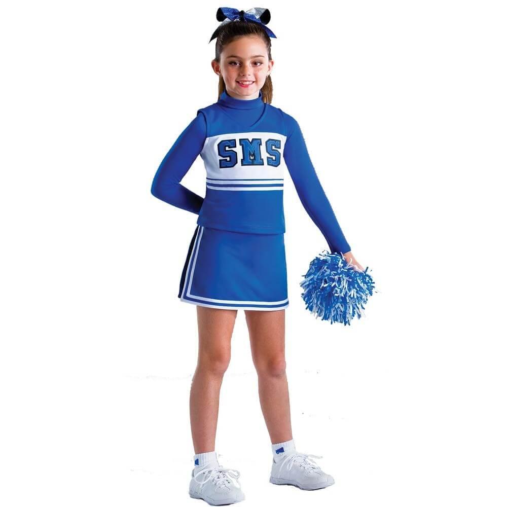 """Motionwear Child """"SMS"""" Cheer Uniform Set"""