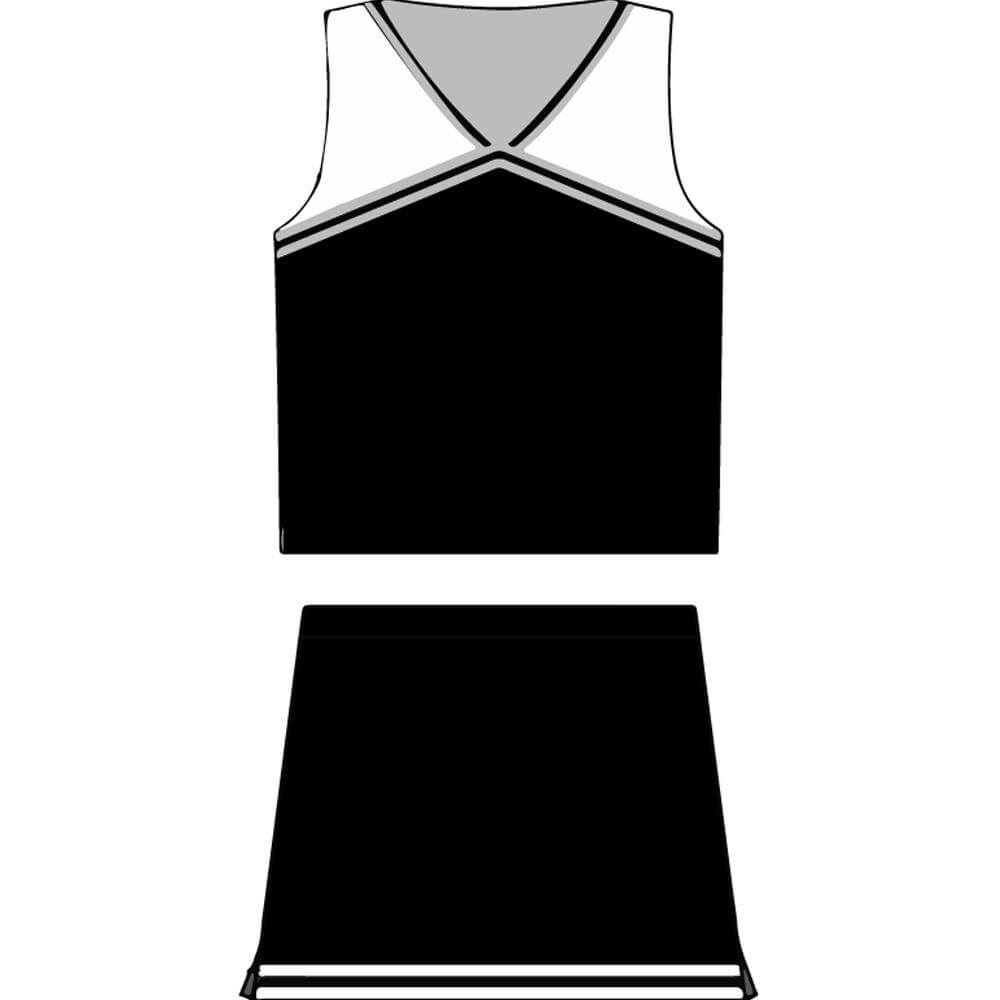 Motionwear Child Classic Cheer Uniform Set - Click Image to Close
