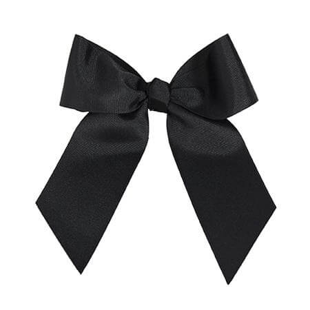 "Motionwear Basics Bows 1 1/2"" Solid Hair Ribbon"