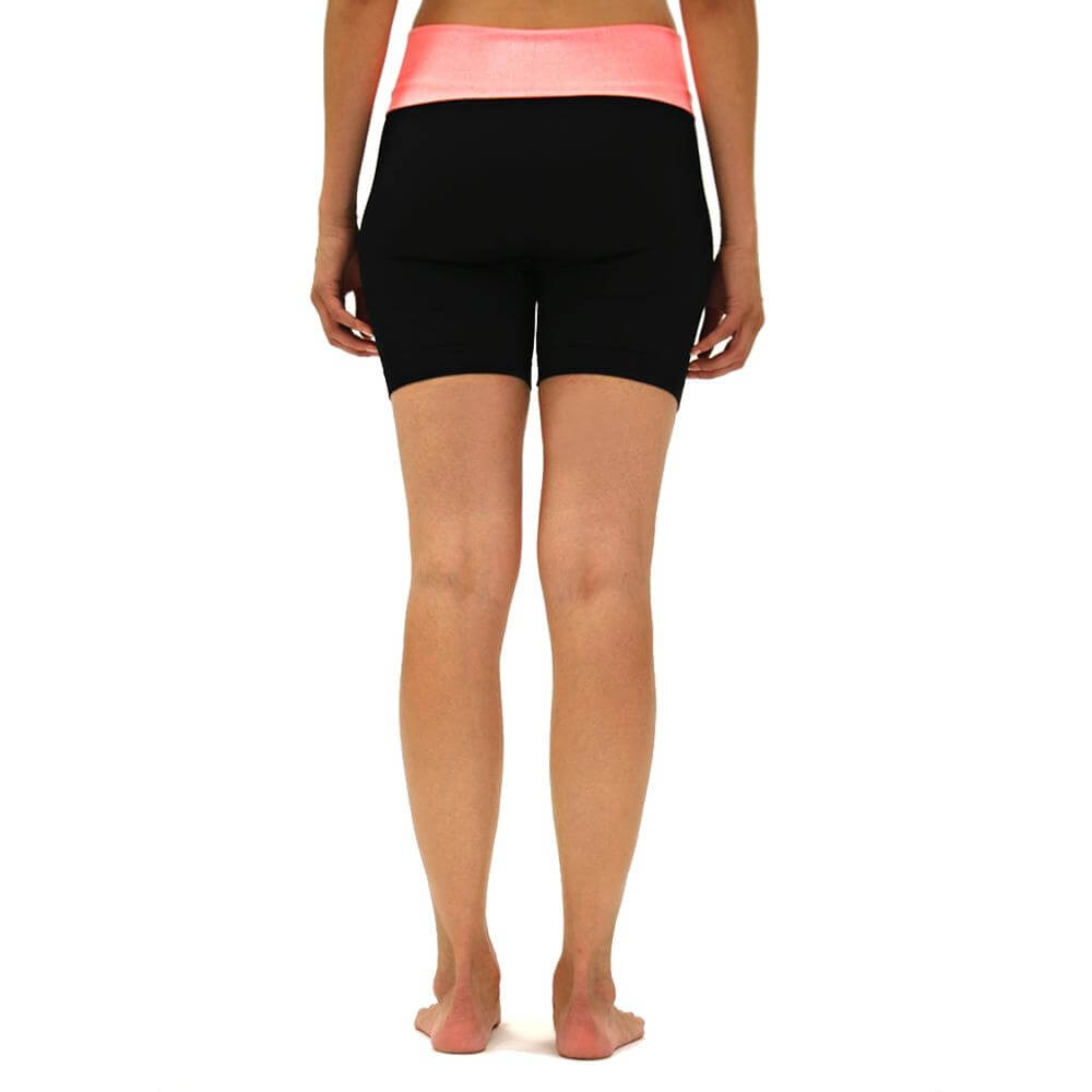 O to S Amazing Sports Yoga Shorts in Cosmic Wash