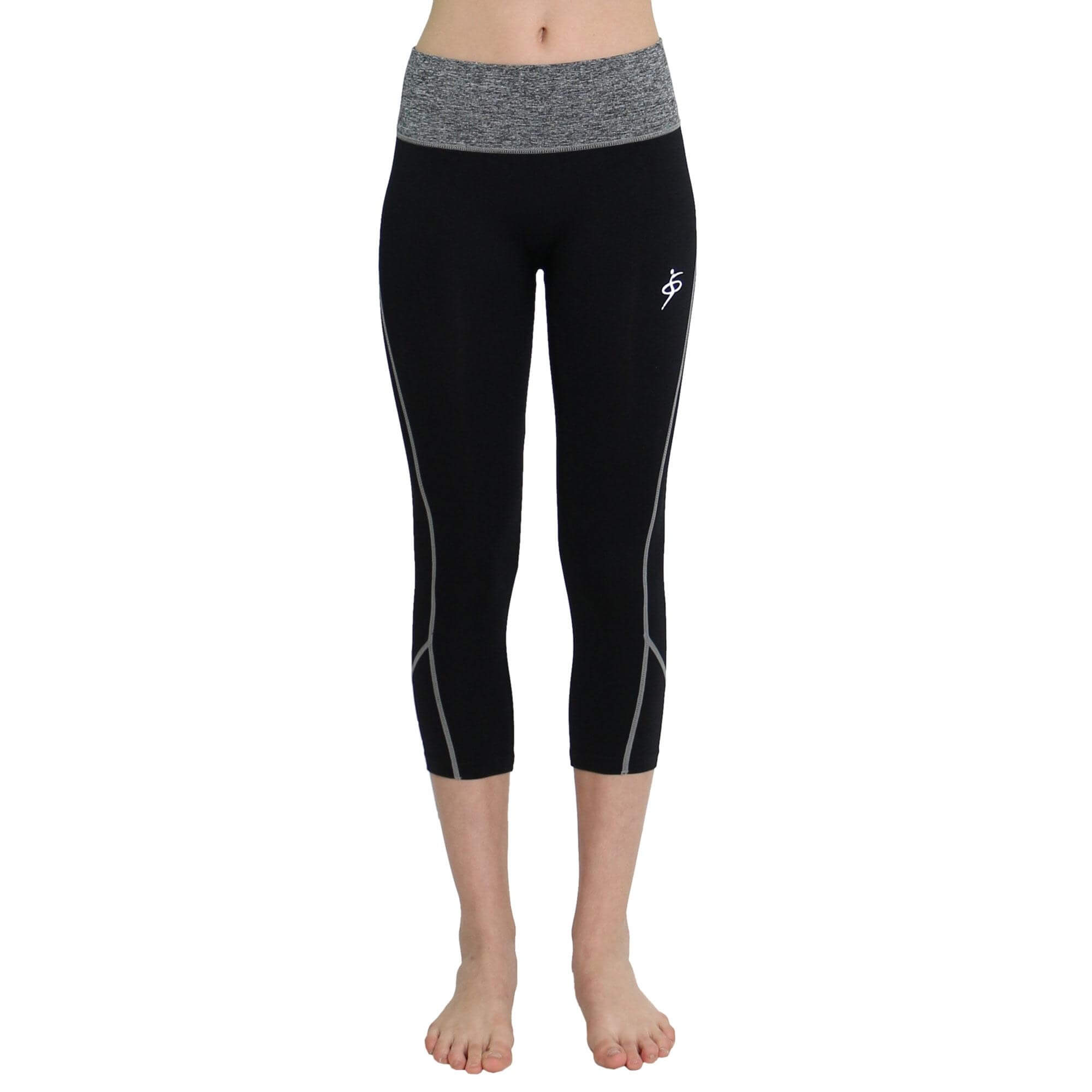O to S Amazing Sports Racing Stripe Crop Pant