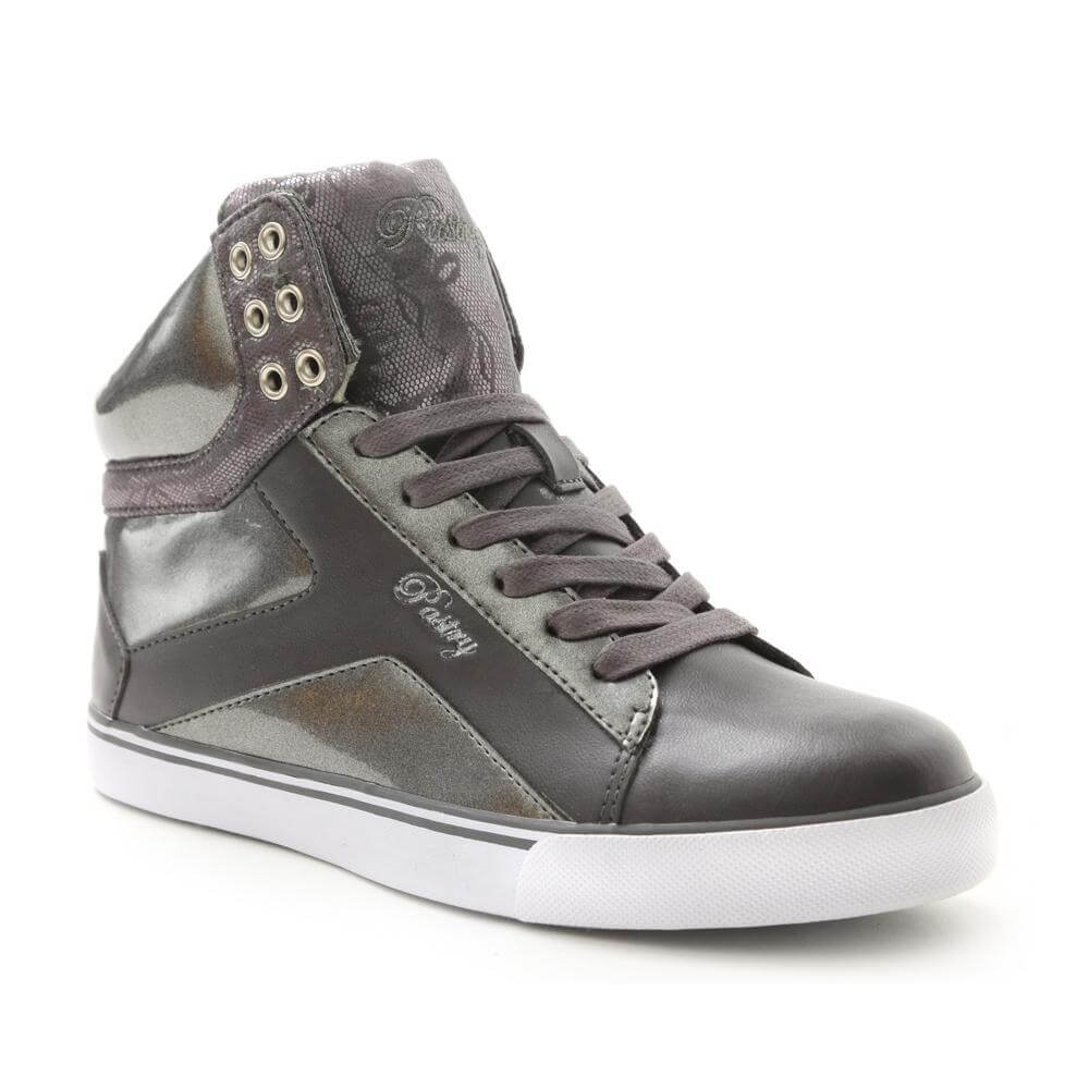 "Pastry Dance Adult ""Pop Tart "" Sweet Crime Grey Sneaker"