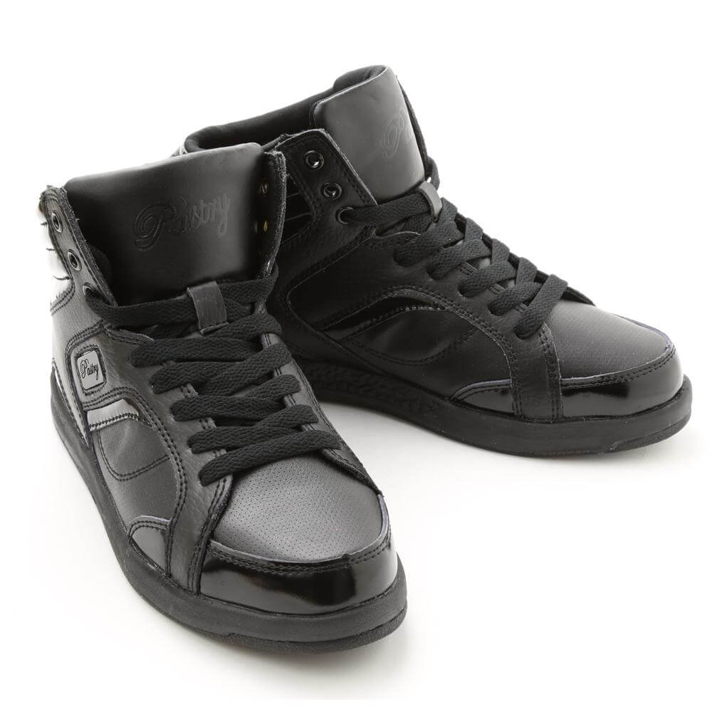 "Pastry Dance Adult ""Sweet Court"" Black/Black Sneaker"