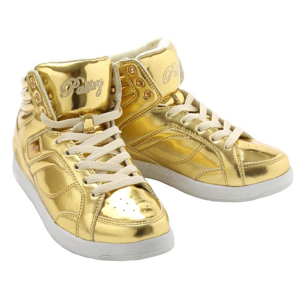 "Pastry Dance Adult ""Sweet Court"" Gold Sneaker"