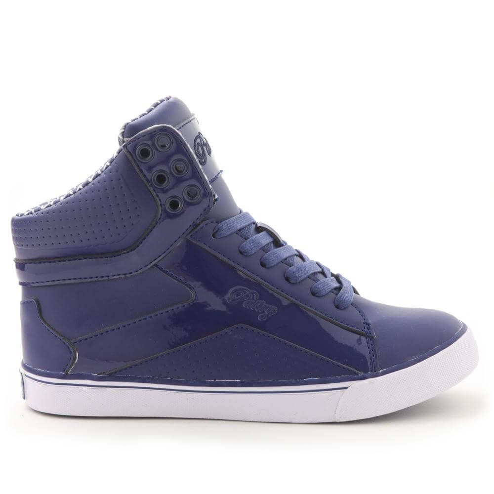 "Pastry Dance Adult ""Pop Tart"" Grid Navy Sneaker - Click Image to Close"