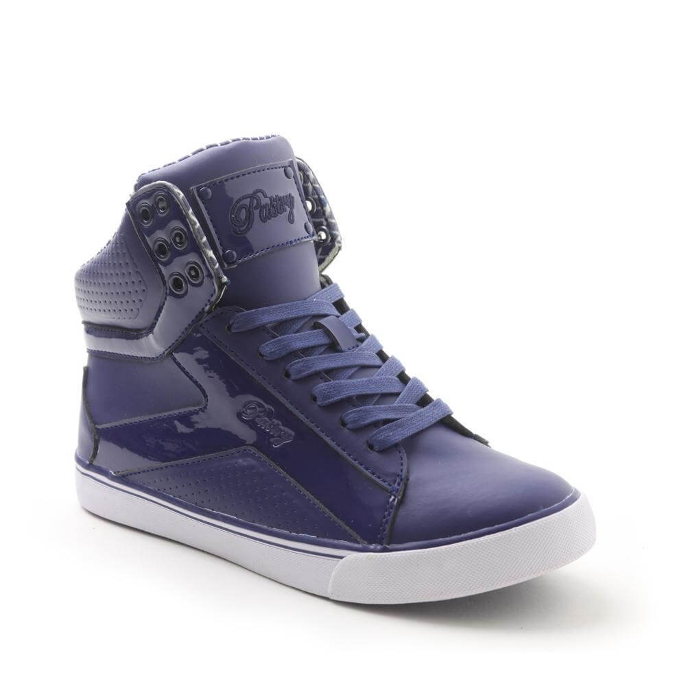 "Pastry Dance Adult ""Pop Tart"" Grid Navy Sneaker"