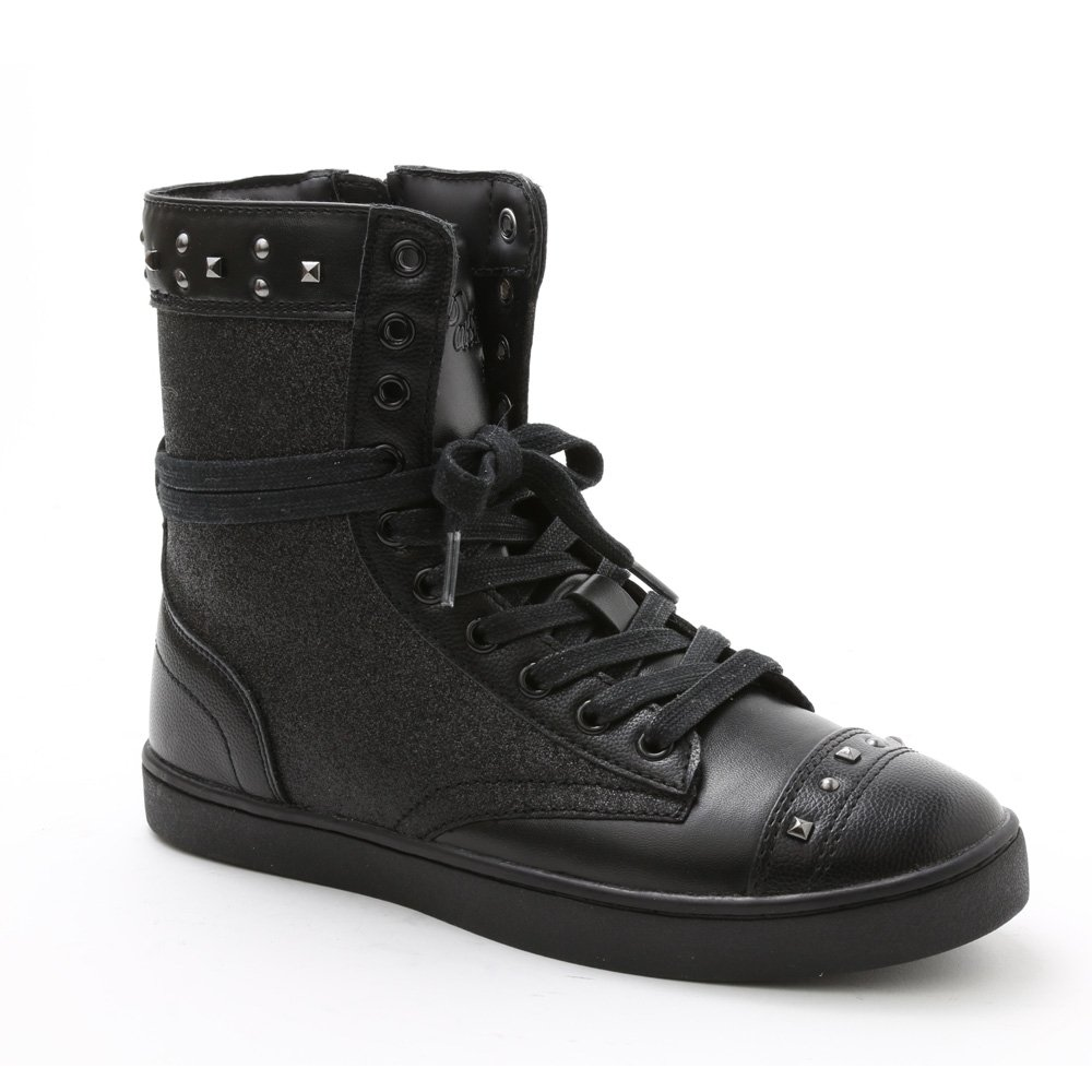 "Pastry Dance Adult ""Military Glitz"" Black Sneaker Boot"