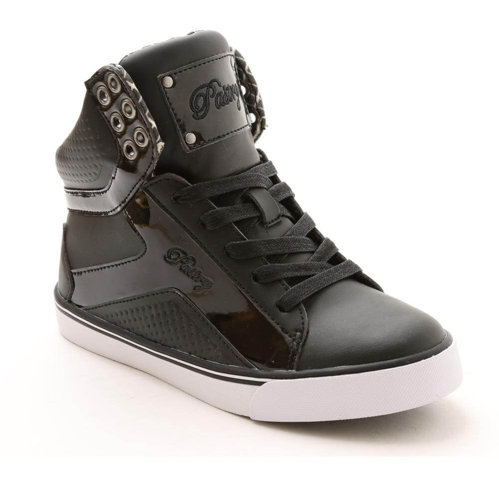 "Pastry Dance Adult ""Pop Tart"" Grid Black Sneaker"