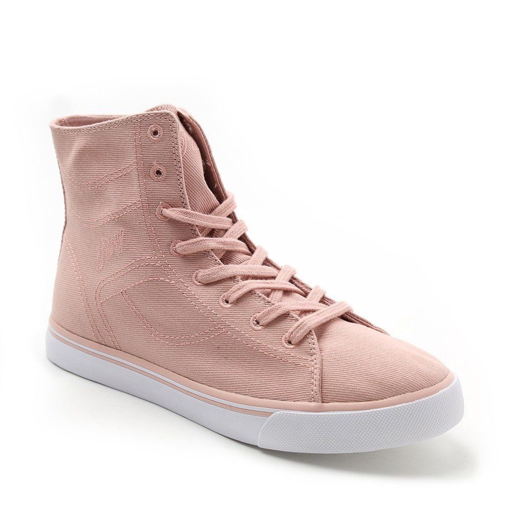 Pastry Cassatta Adult Ballet Pink Stretch Canvas High Tops