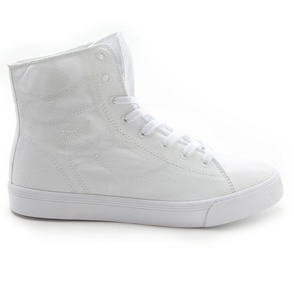 Pastry Cassatta Adult White Stretch Canvas High Tops