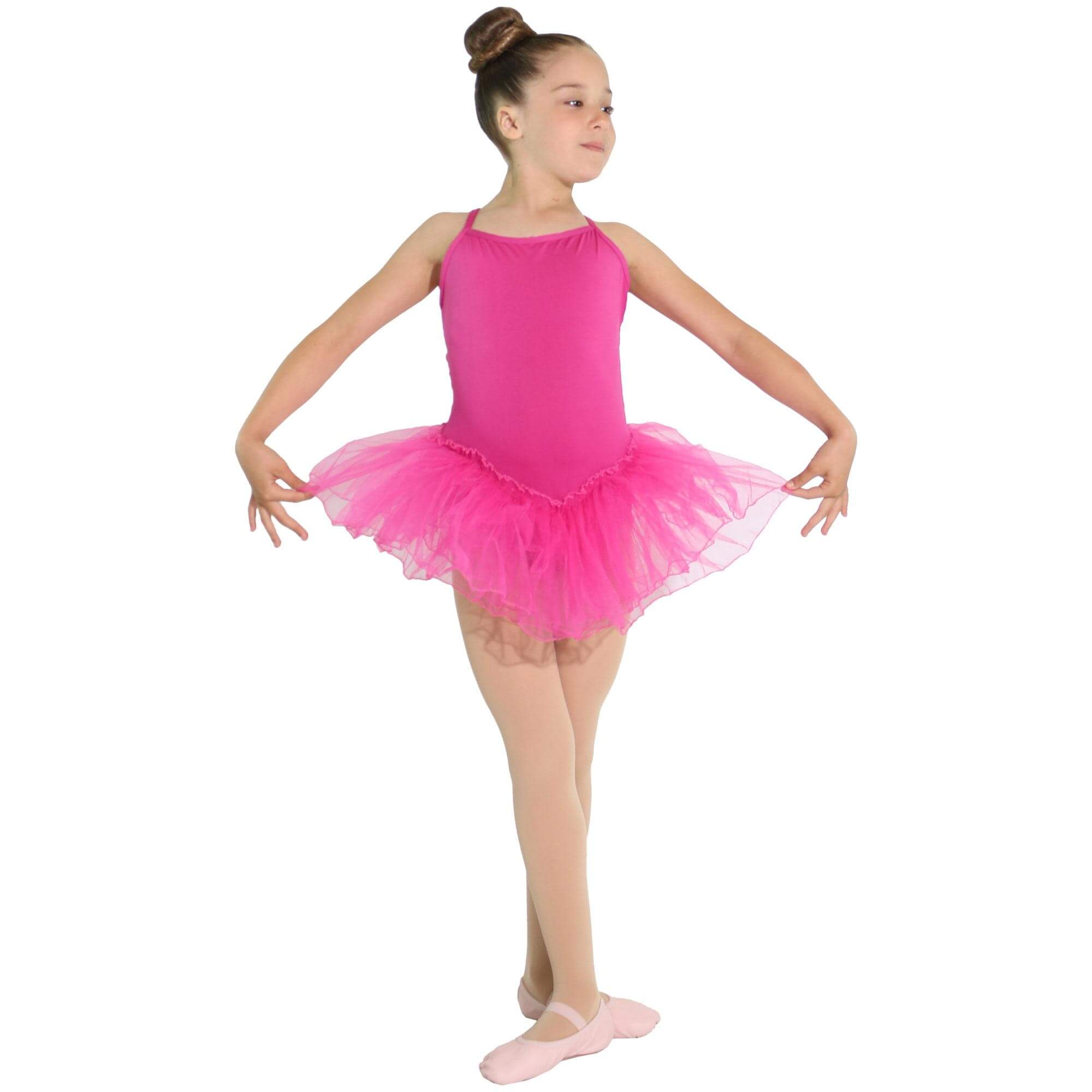 Reflectionz Spaghetti Strap Tutu Dress