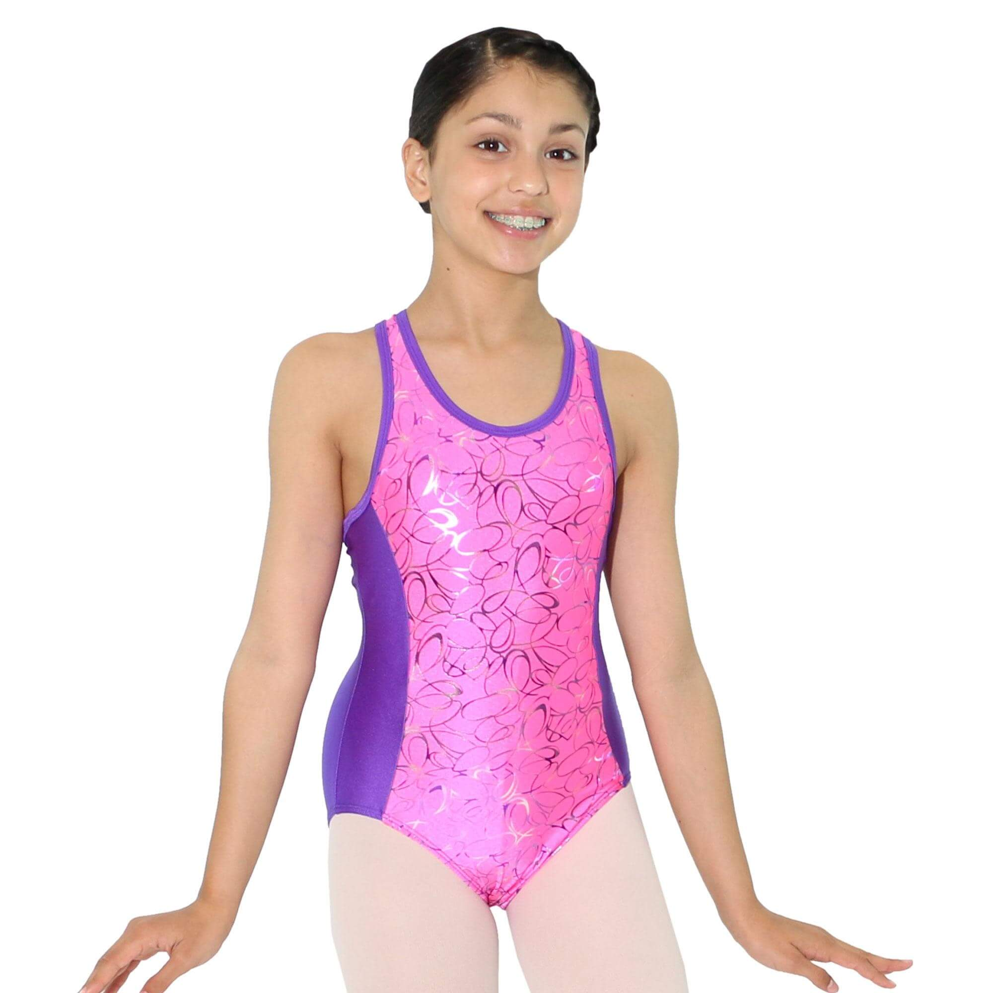 Reflectionz Oval Multi Leotard