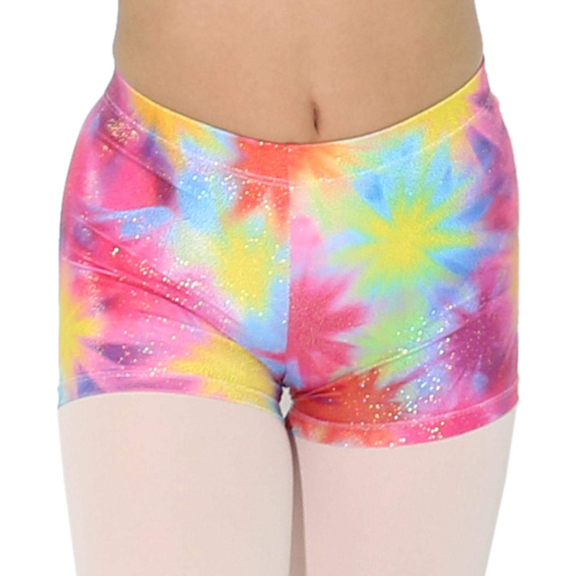 Reflectionz Multicolor Starburst Shorts