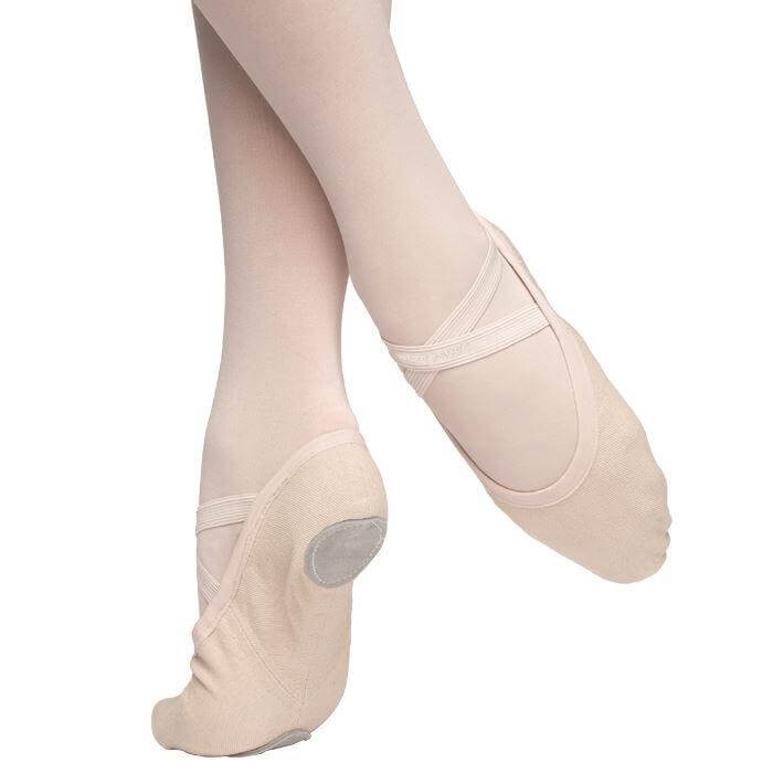 Russian Pointe Vivante Stretch Canvas Slipper
