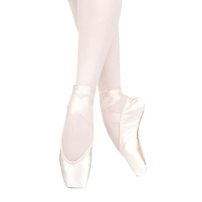 Russian Pointe Lumina U-Cut Drawstring Shank Flexible Hard Pointe Shoe