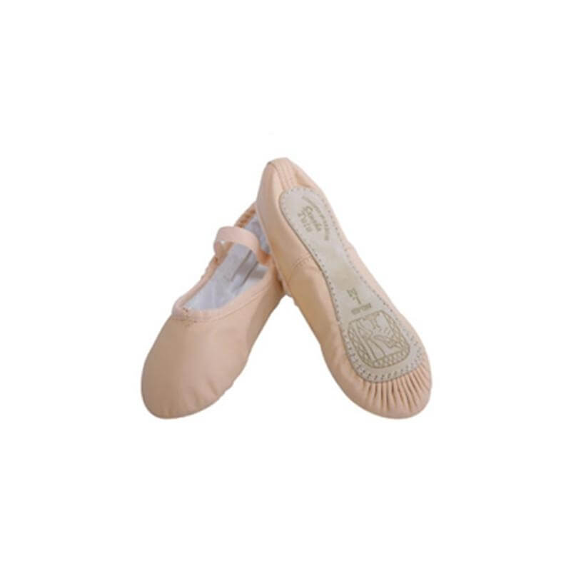 "Sansha 14Lco ""Star"" Child/Youth Leather Ballet Slipper"