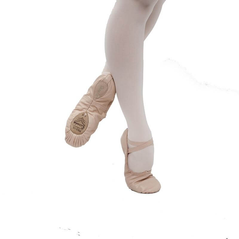 "Sansha ""Pro\"" Leather Ballet Slipper"