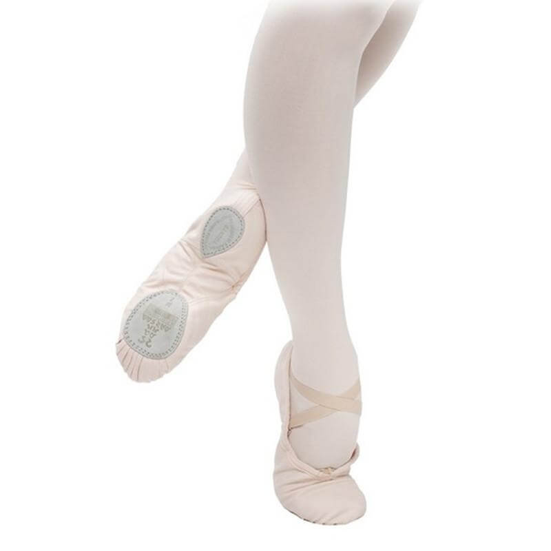 "Sansha ""Silhouette-canvas\"" Adult Ballet Slipper"