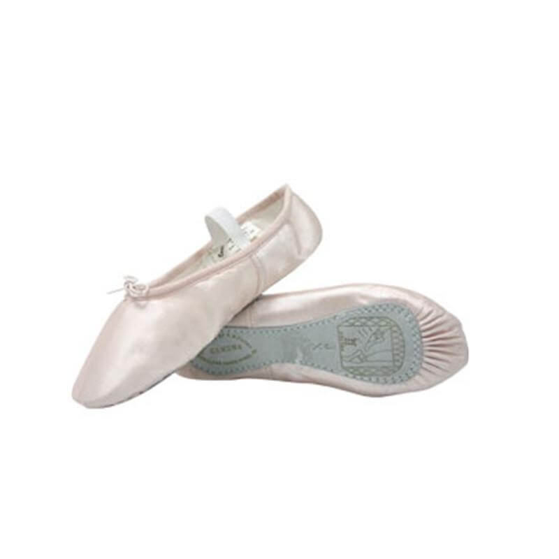 "Sansha ""Tutu\"" Child/Youth Satin Ballet Slipper"