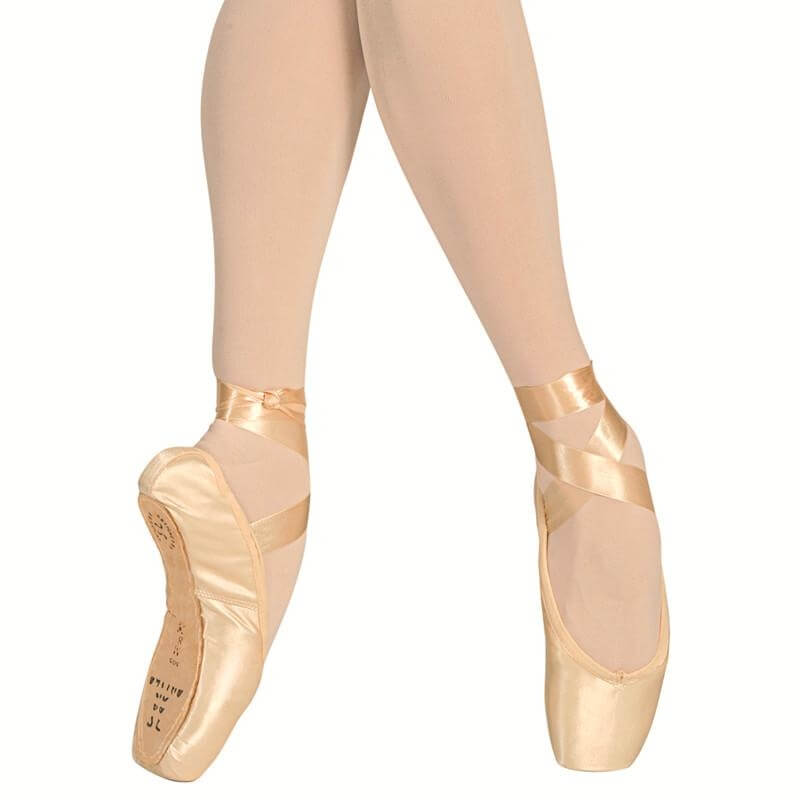 "Sansha ""Etudes\"" Leather Sole Pointe Shoes"