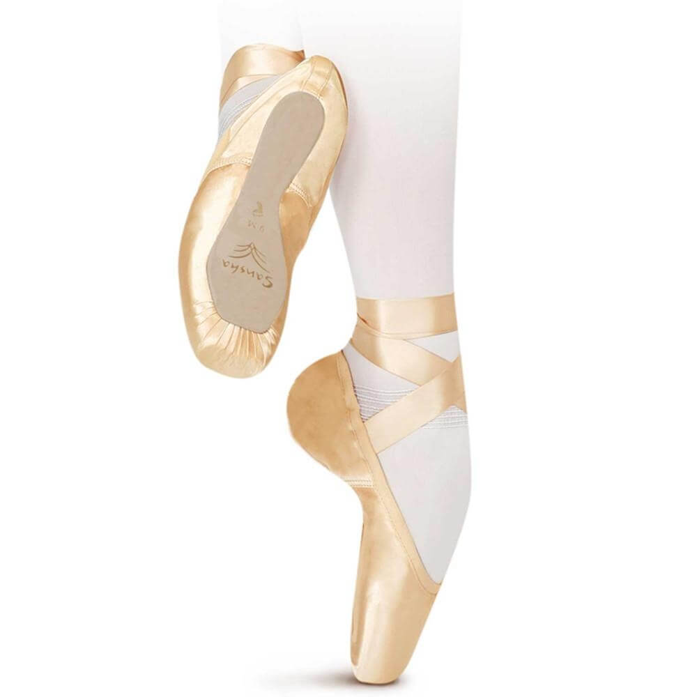 "Sansha ""Gloria"" Professional Pointe Shoe"