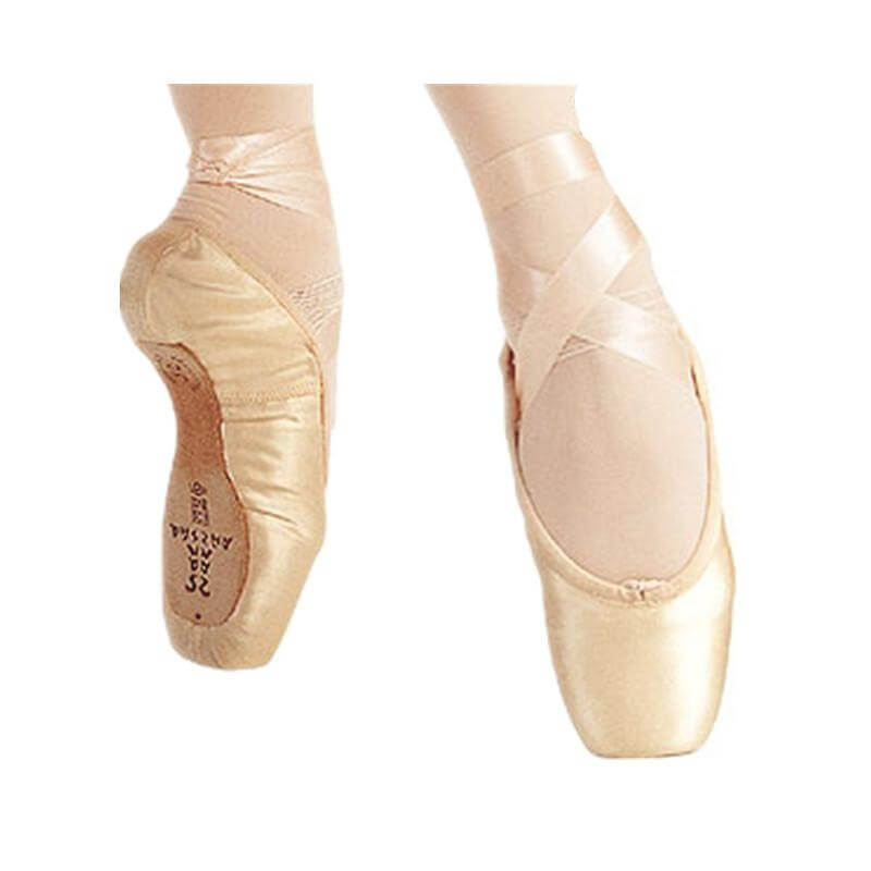 "Sansha ""Ovation-Satin"" Professional Pointe Shoe"