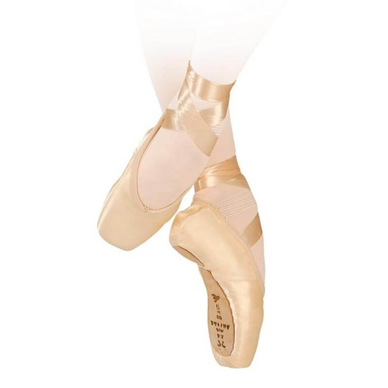 "Sansha 609S Adult ""Legende\"" Pointe Shoes"