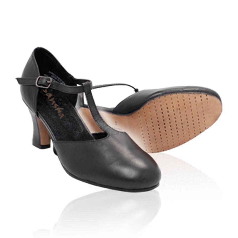 """Sansha Adult 2.5"""" Heel """"Poznan"""" Character Shoe"""