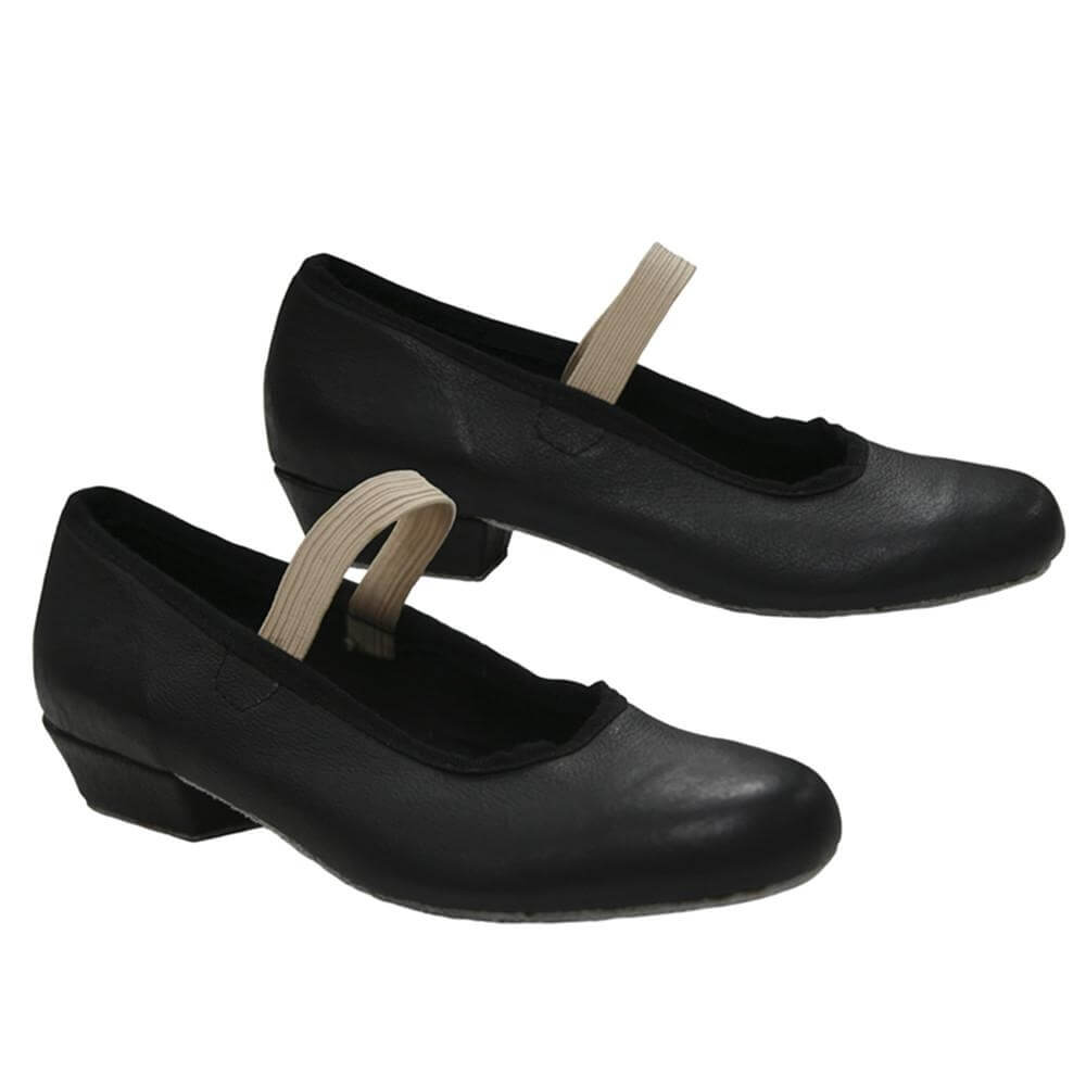 "Sansha Child/Youth ""Mazurka"" Leather Character Shoe"