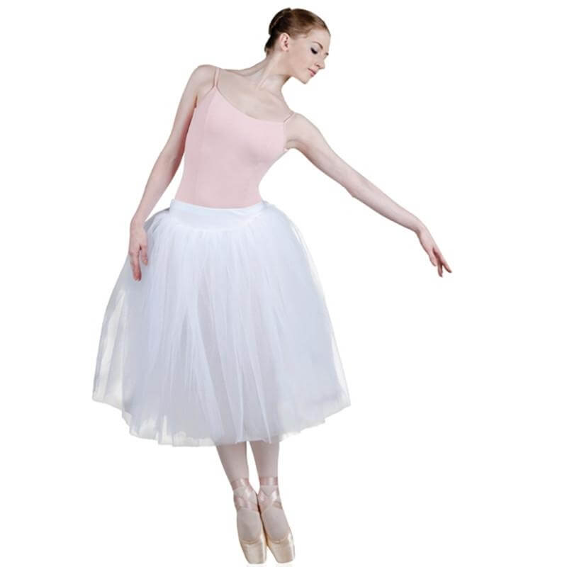 "Sansha ""Degas\"" 5 Layers Romantic Tutu Skirt"