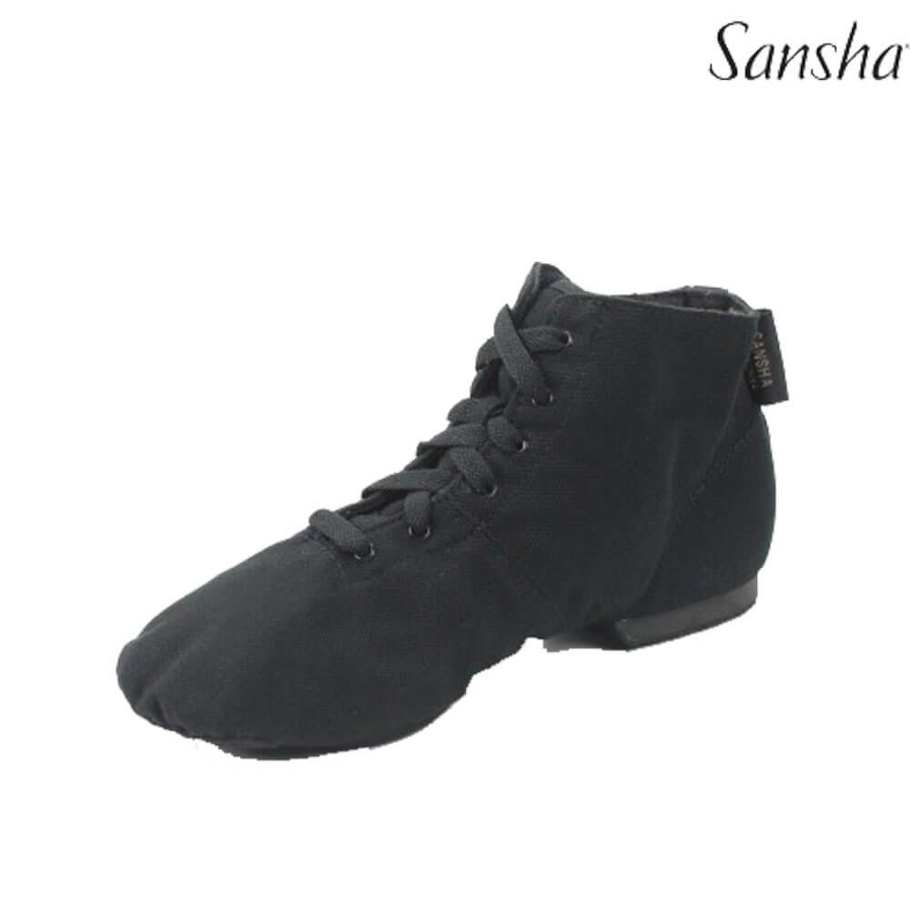 Sansha Split-Sole Lace-up Jazz Boots