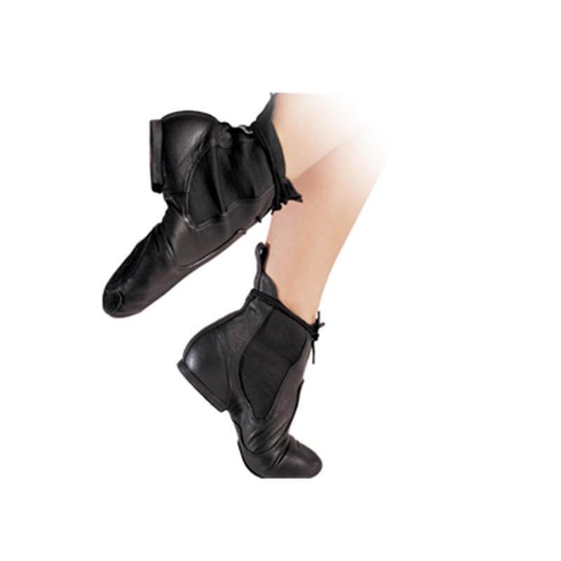 "Sansha Adult ""So-Li"" Canvas Slip-on Jazz Boots"