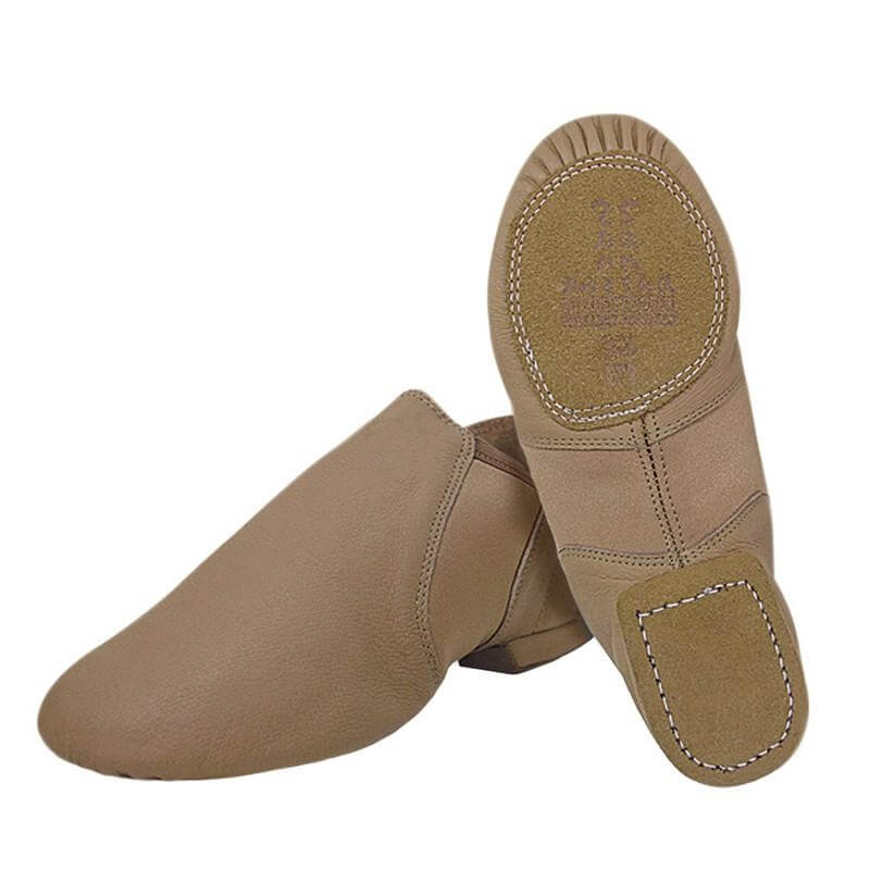 "Sansha Adult ""Moderno\"" Leather Slip-on Jazz Shoes"