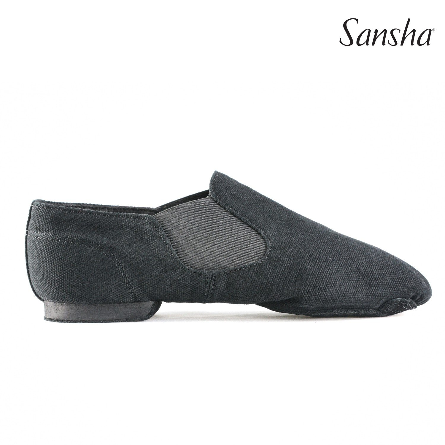 "Sansha JS33C Adult ""Moderno"" Canvas Jazz Shoe"