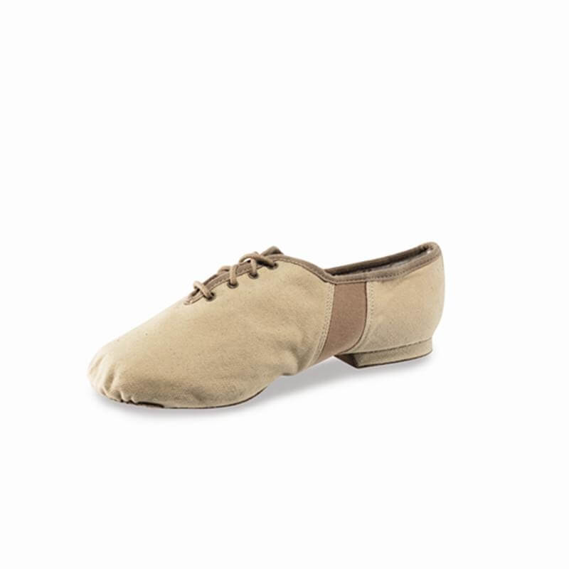 "Sansha JS3C Adult ""Tivoli-canvas"" Lace-UP Jazz Dance Shoes"