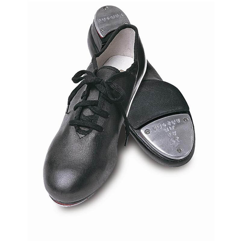 "Sansha Adult 3/4"" heel \""T-Split\"" Lace-up Tap Shoes"