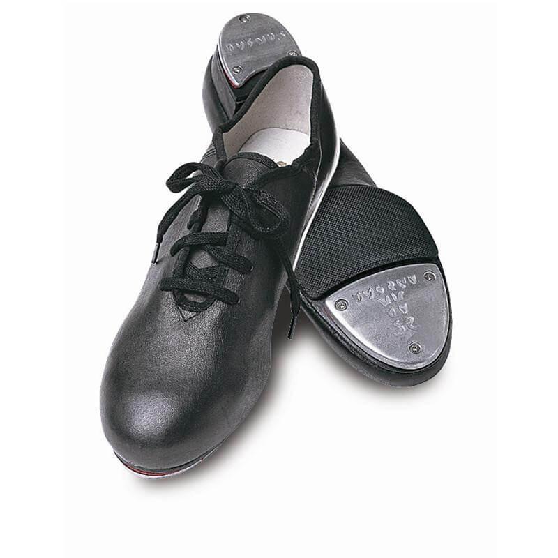 """Sansha Adult 3/4\"""" heel \""""T-Split\"""" Lace-up Tap Shoes"""